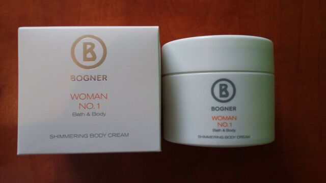 BOGNER WOMAN No.1, Shimmering Body Cream 200 ml (100 ml = 14,48 €)