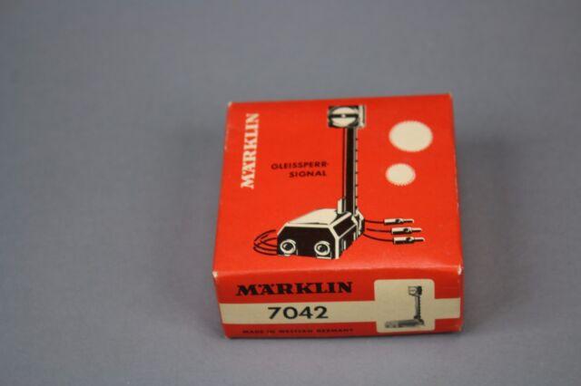 X584 Marklin train Ho M 7042 signal manoeuvre track block signal Märklin
