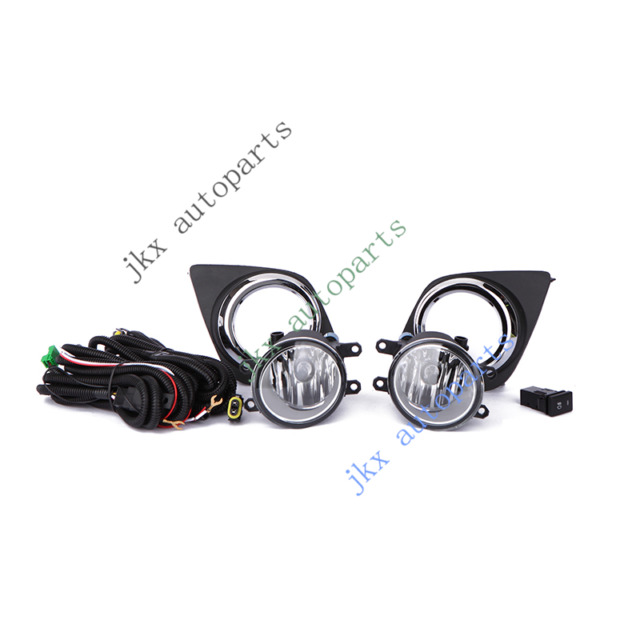 s l640 add on upgrade clear lens fog light bulb switch wiring kit set for