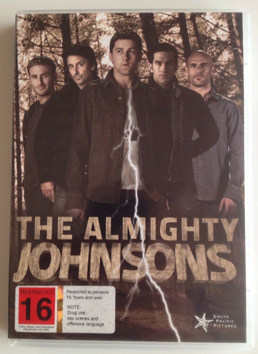 The Almighty Johnsons Season 1 DVD 3-disc Set Region Sci-fi Syfy TV Series