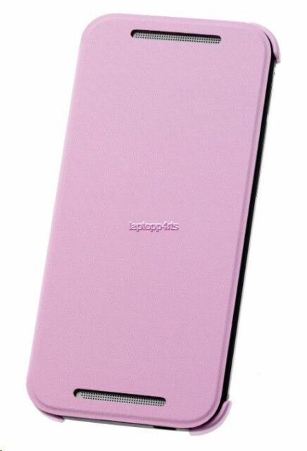 Genuine Official HTC HC V970 Flip Case Cover For HTC One Mini 2 Pink - New