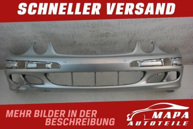 Mercedes E-Klasse W211 Bj. 2002-2006 Stoßstange Vorne Silber Orig. A2118800040