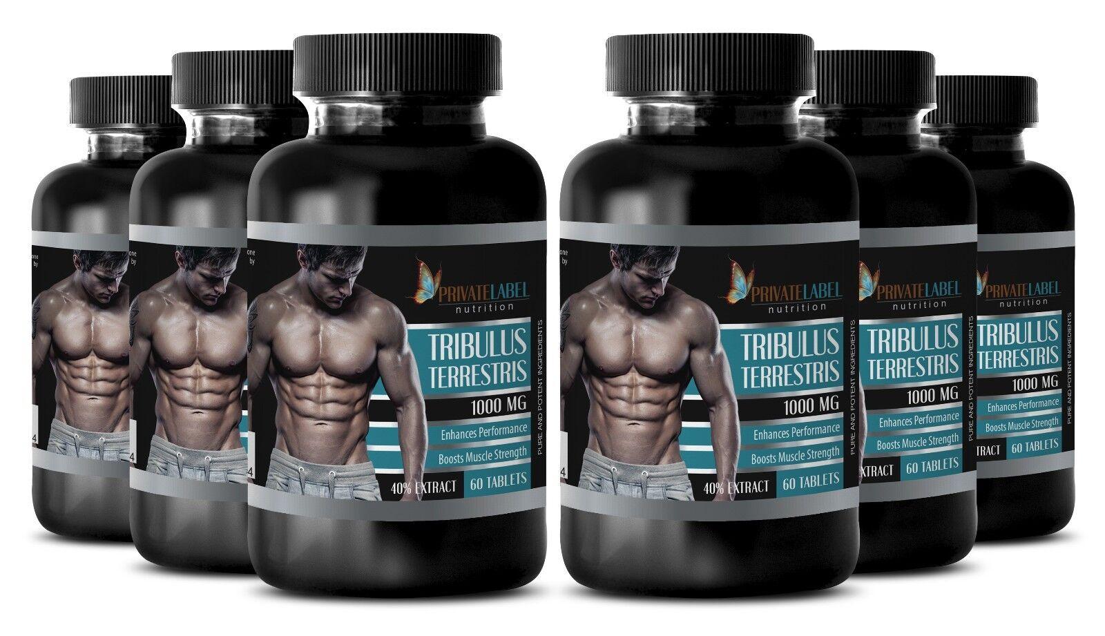 tribulus terrestris powder 1000mg testosterone booster male enhancer