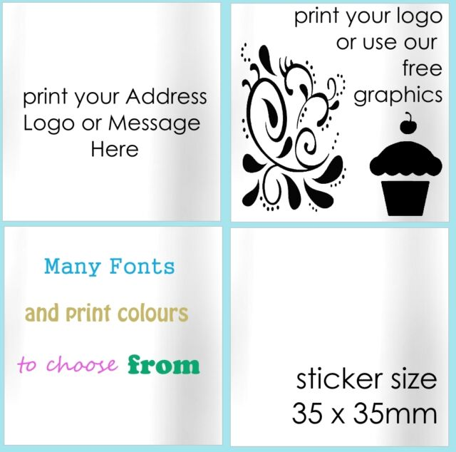 Personalised Square Stickers