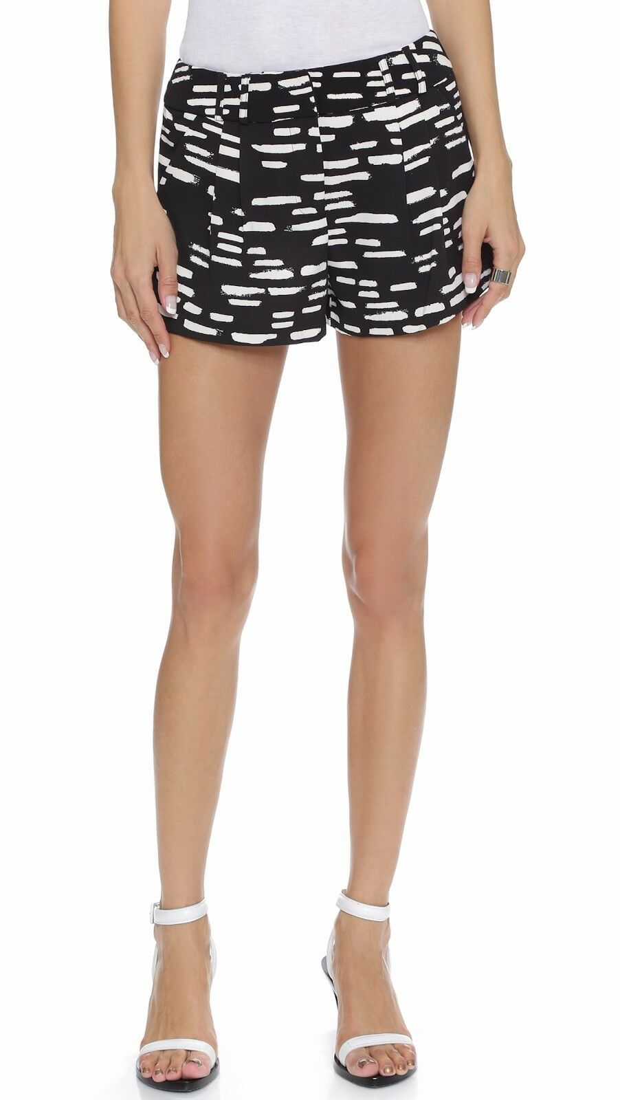 high-waisted shorts - Black C/Meo Collective g9swHmhm5S