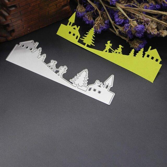 Christmas Cutting Dies Stencils Scrapbooking Embossing DIY Paper Cards Craft