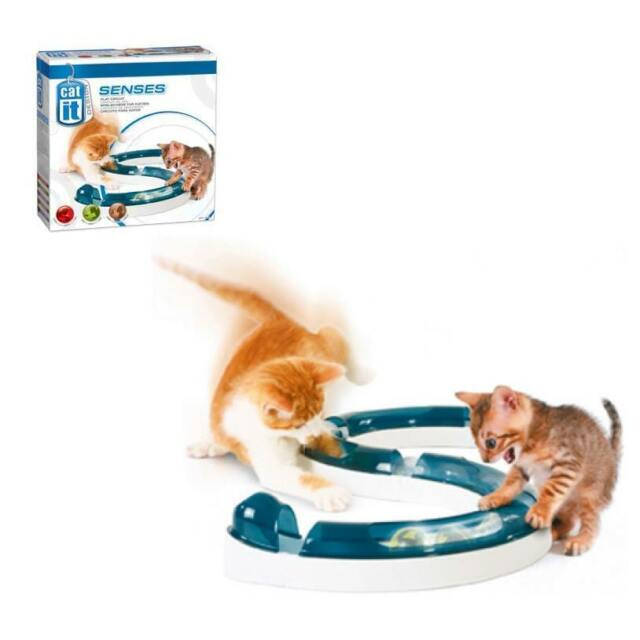 Catit® Design Senses  - Spielschiene mit Ball  für Katzen # 50730 - catit