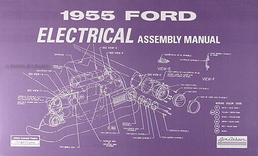 s l640 1955 ford car electrical wiring assembly manual wiring diagrams ford car wiring diagrams at soozxer.org
