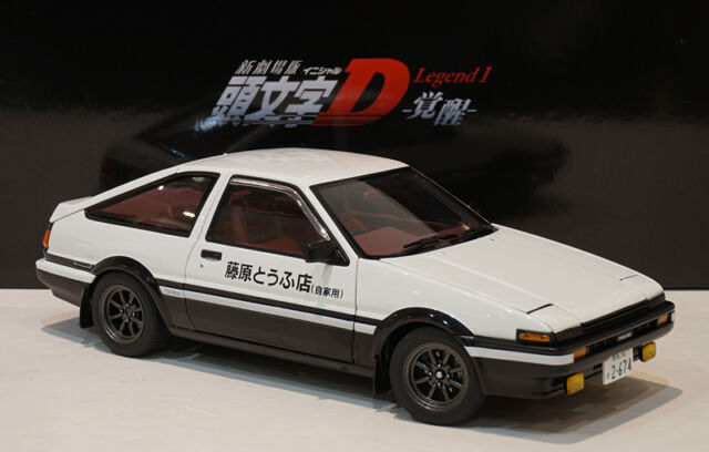 autoart 78798 initial d toyota sprinter trueno ae86 model. Black Bedroom Furniture Sets. Home Design Ideas