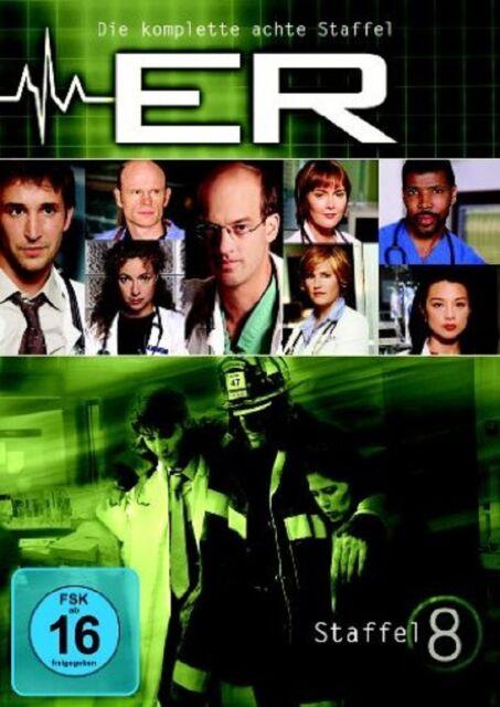3 DVD Box - ER - Emergency Room Staffel 8 - NEU OVP