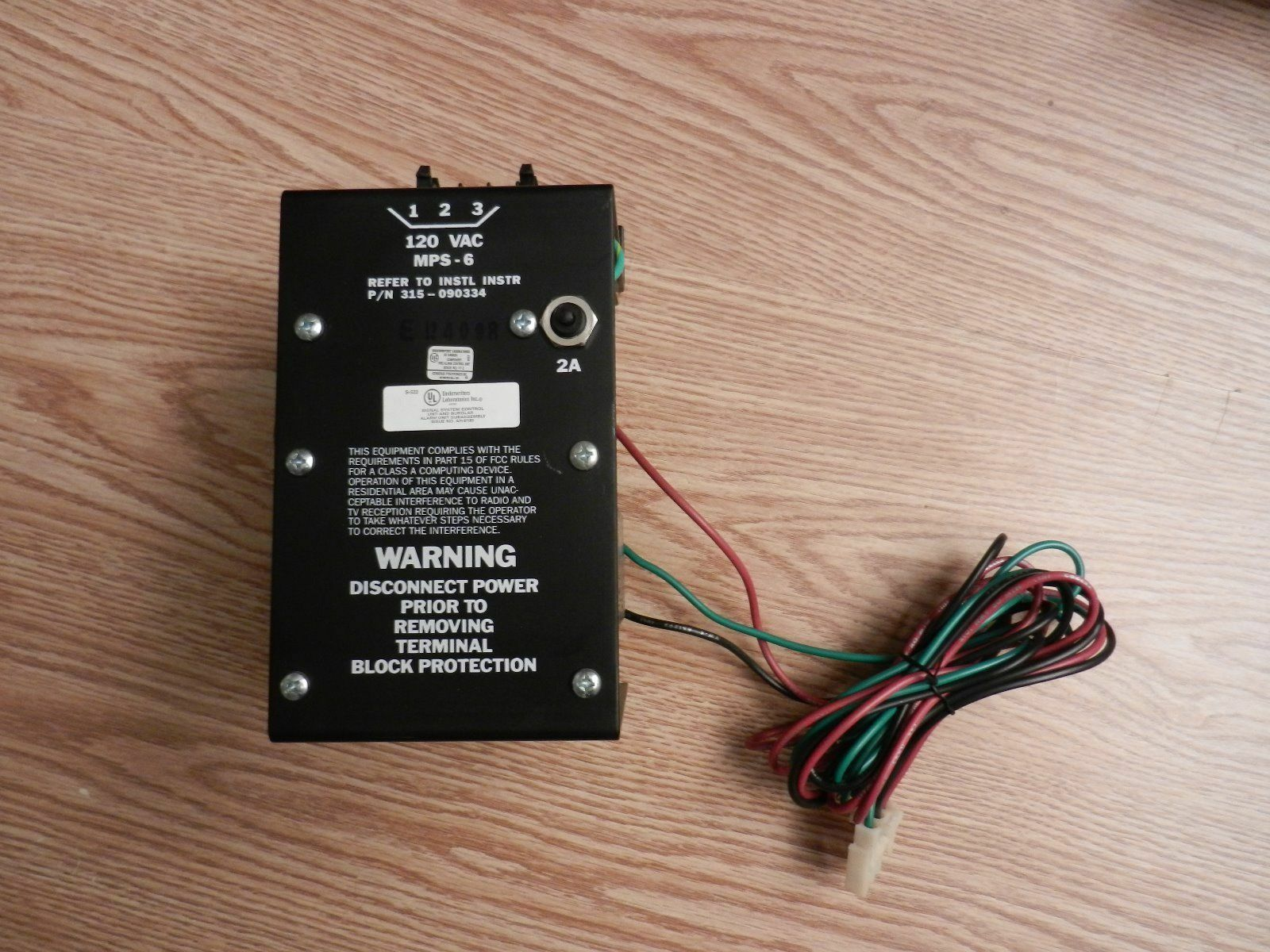item 5 SIEMENS / CERBERUS PYROTRONICS MXL MPS-6 POWER SUPPLY 24VDC 6.5 AMP  315-090334 -SIEMENS / CERBERUS PYROTRONICS MXL MPS-6 POWER SUPPLY 24VDC 6.5  AMP ...