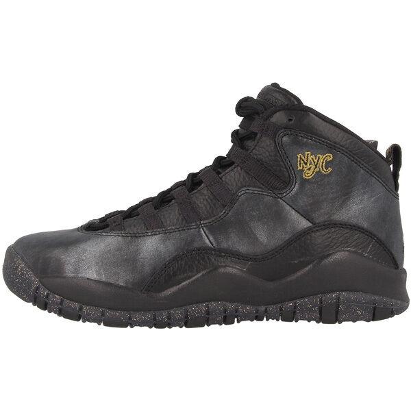 Nike Air Jordan Retro X GS 310806012 nero lunghezza caviglia