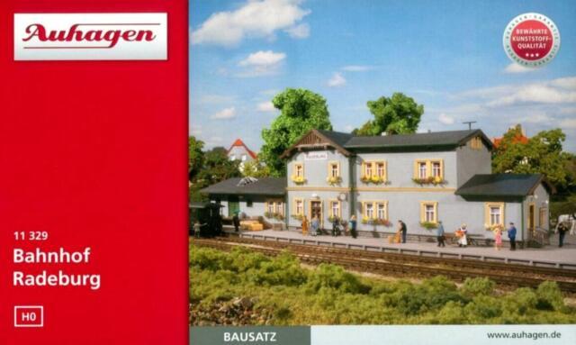 """Auhagen 11329 H0 - Bahnhof """" Radeburg """" NEU & OvP"""