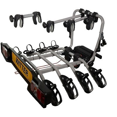Witter Zx304 Clamp On Towball Mounted 4 Bike Cycle Carrier Ebay