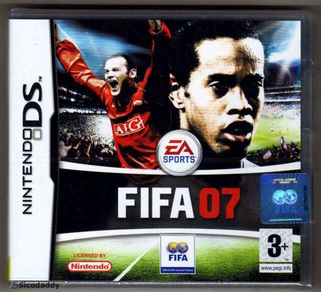 Nintendo DS FIFA 07, UK Pal, New & Nintendo Factory Sealed