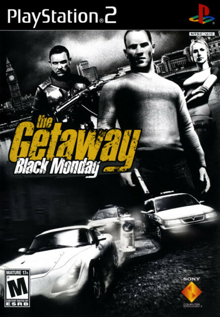 The Getaway: Black Monday PS2 New