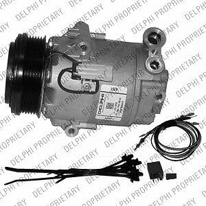 Kompressor, Klimaanlage DELPHI TSP0155459