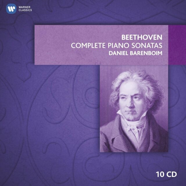 DANIEL BARENBOIM BEETHOVEN COMPLETE PIANO SONATAS CD CLASSICAL NEW
