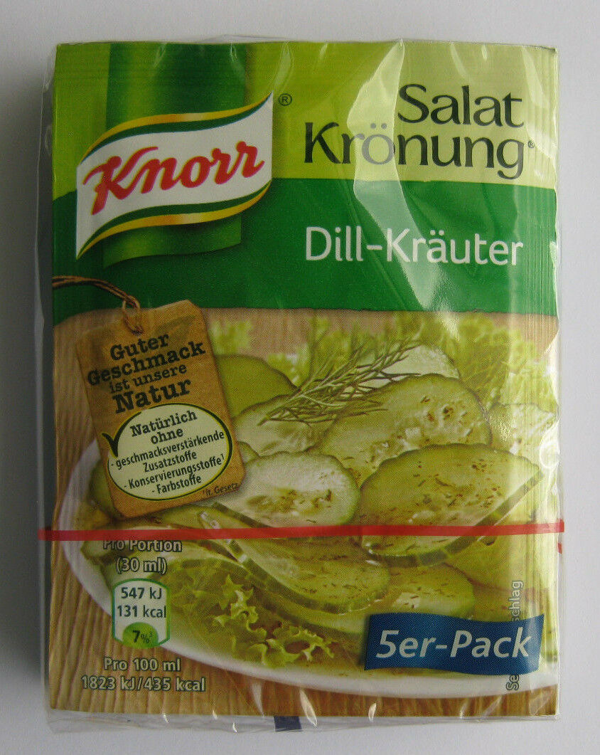 Salad dressing krauter