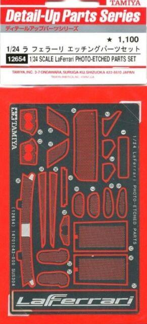 Tamiya 12654 1/24 La Ferrari PE Photo Etched Detail Up Parts For 24333 LaFerrari
