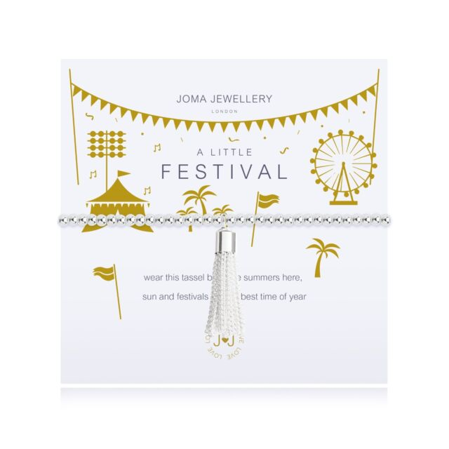 Joma Jewellery A Little Festival Bracelet with Gift Bag