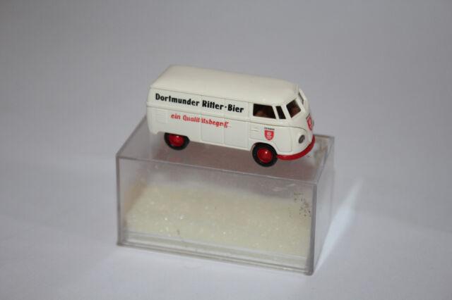 Brekina 1:87 Modell VW T1 Kastenwagen   Dortmunder Ritter-Bier OVP Rarität