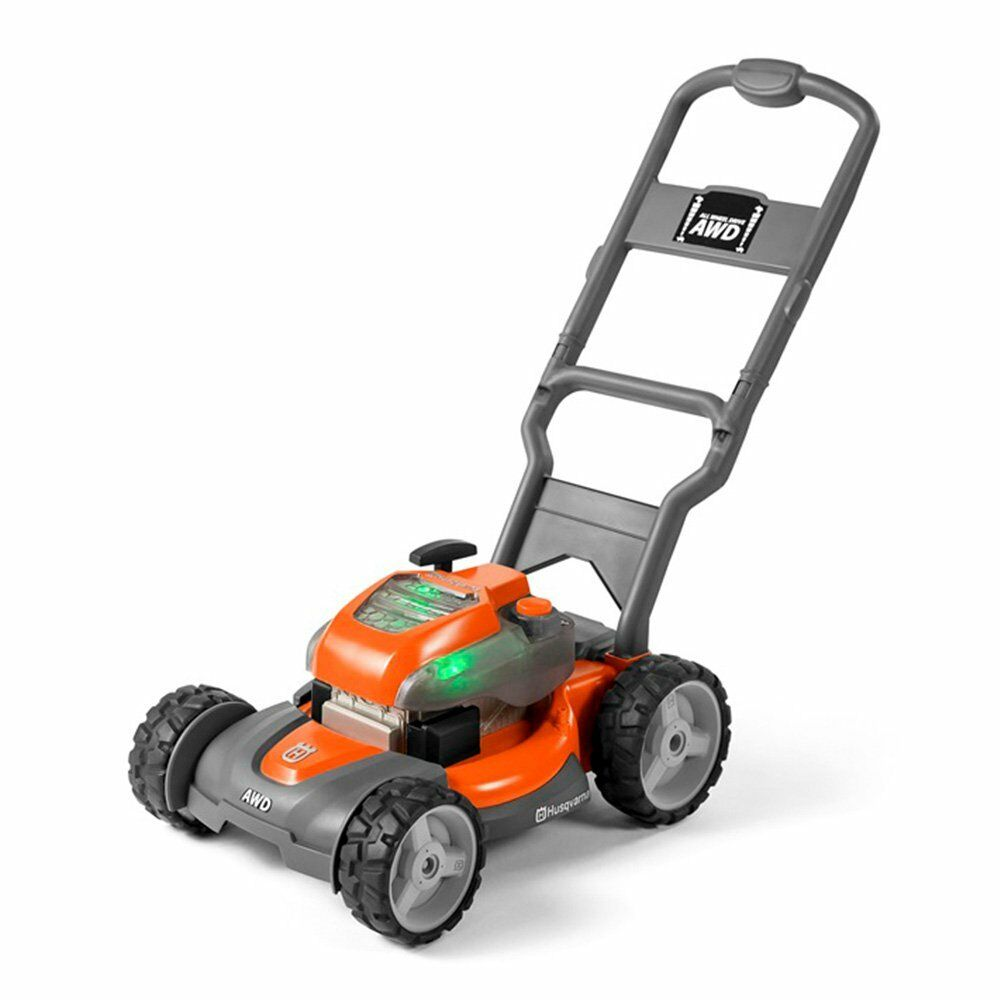 Husqvarna Battery Ed Kids Toy Lawn Mower For Ages 3 Orange 589289601