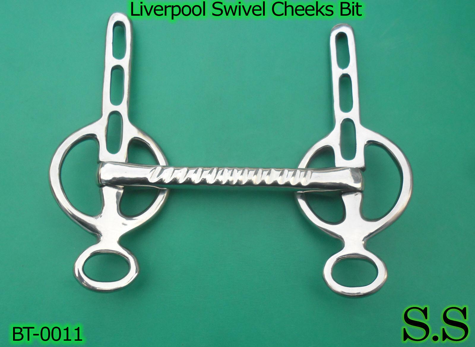 Liverpool Swivel Cheeks Bit 5 Stainless Steel BT 0011 | eBay