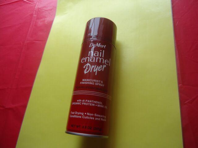 DeMert Nail Enamel Fast Dryer Finishing Spray 8.5 Oz - Item   eBay