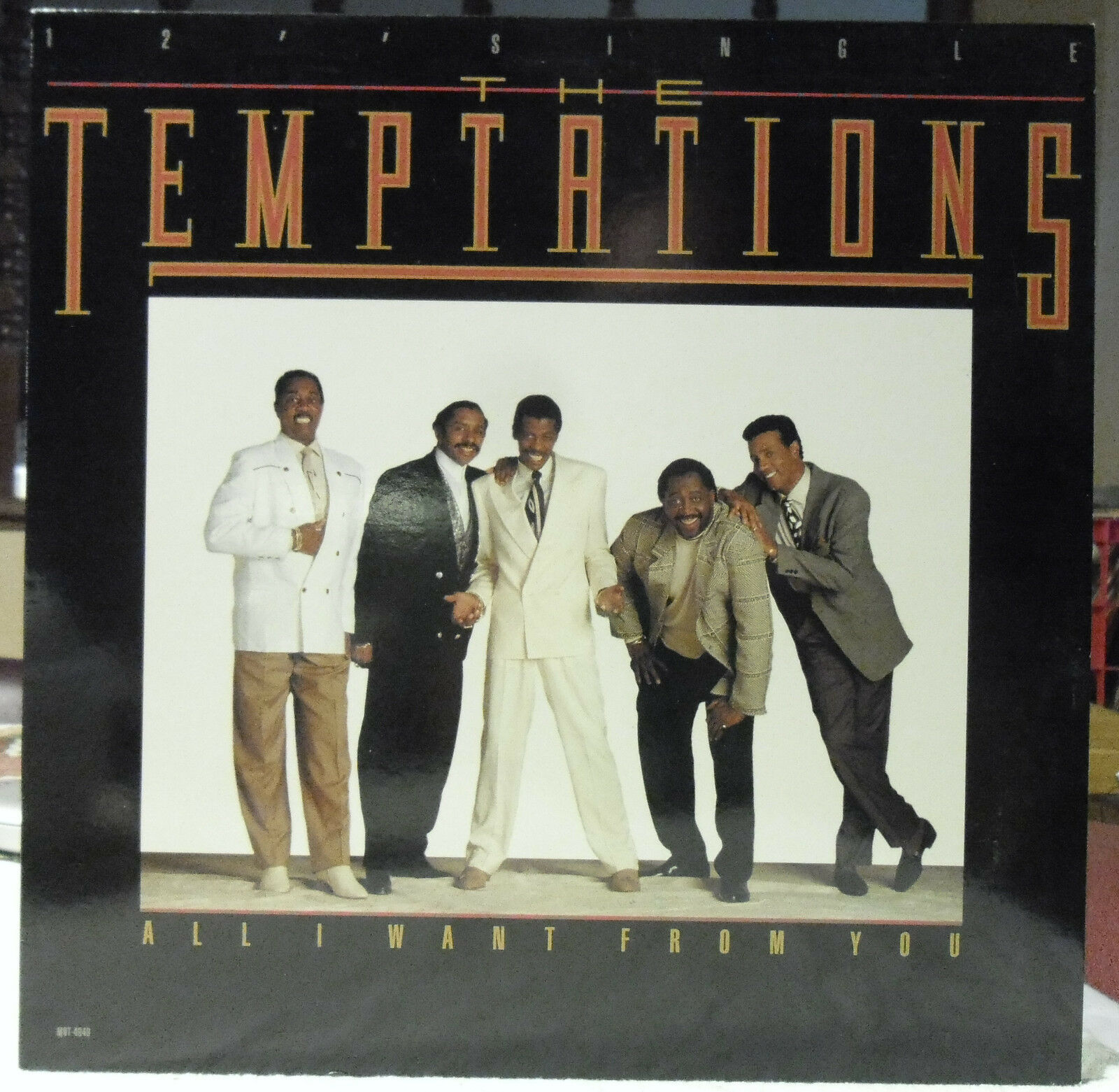 The Temptations All I Want From You 12 Inch Single NM Appears ...