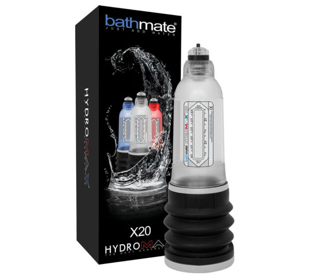 BATHMATE HYDROMAX Penisvergrößerung Pump Erotik x20 x30 x40 x50 Xtreme Auswahl