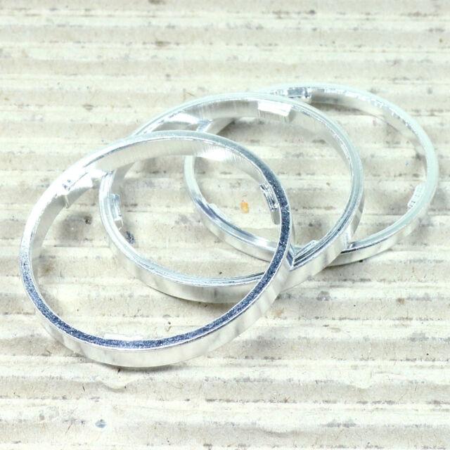Zwischenring Distanzring Set - 3 4 4,5 mm dick - Alu - für Kassette Freilauf