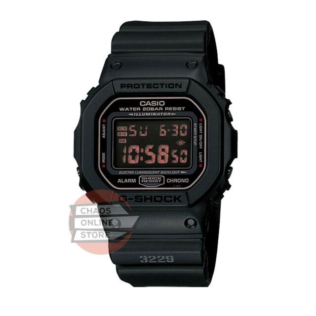 Casio G-Shock DW-Series Standard Digital Military Black DW-5600MS-1D- New