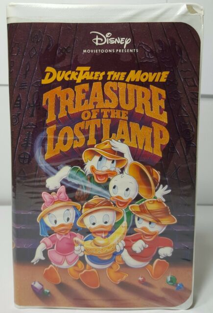 Ducktales The Movie: Treasure of the Lost Lamp (VHS, 1991) | eBay