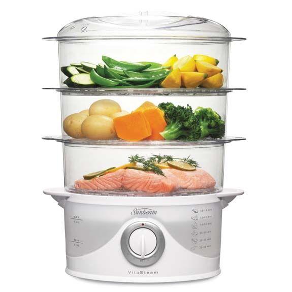 Sunbeam Rice Cooker / Steamer - Multi Level ST6650