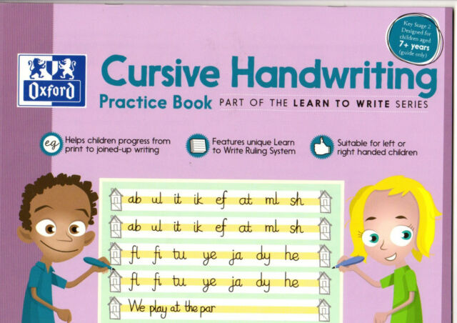 Hamelin Oxford A36020 Cursive Handwriting Practice Book