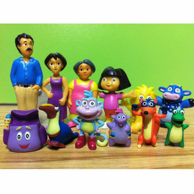 Dora The Explorer Figurines Cake Topper