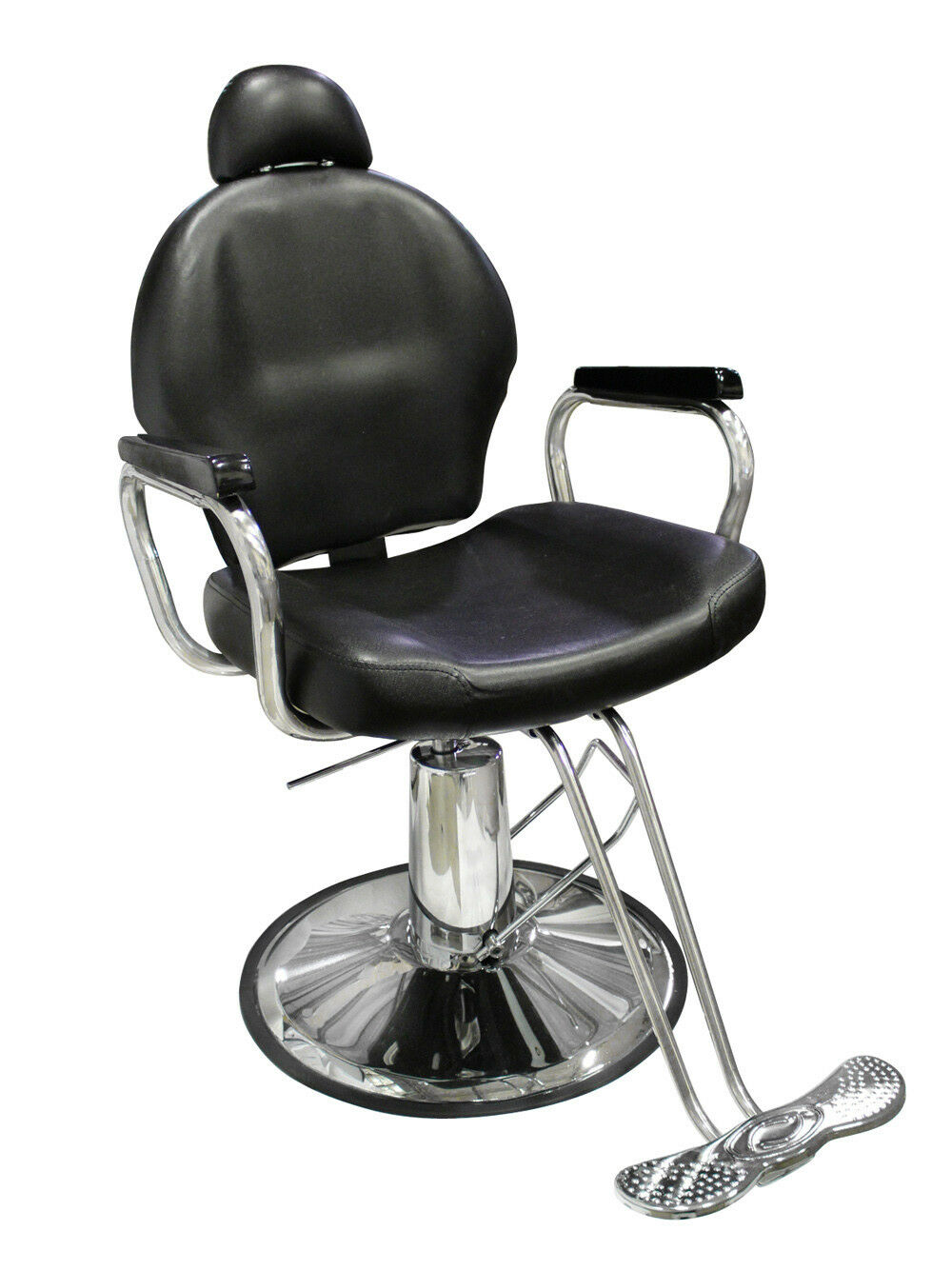 Picture 1 of 12 ...  sc 1 st  eBay & Reclining Hydraulic Barber Chair Salon Styling Beauty Spa Shampoo ...