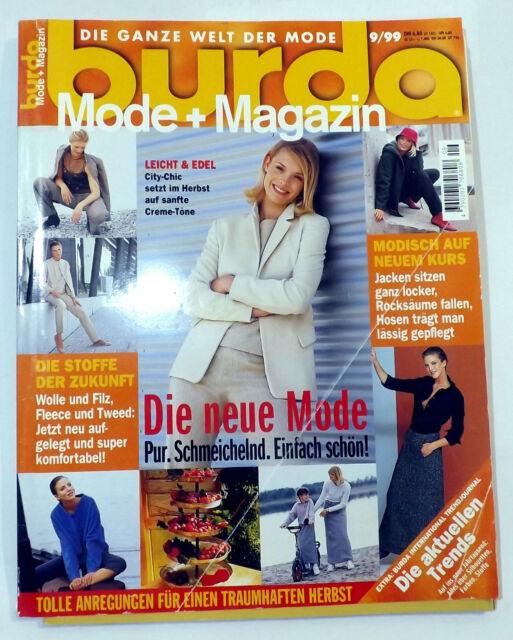 Burda Magazin Nr. 9  von 1999