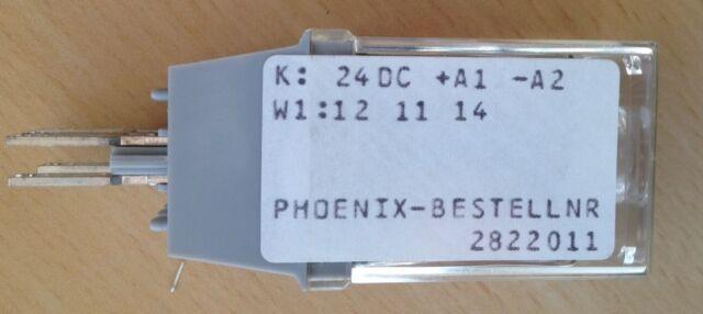 Phoenix contact Steck-Relais ST-REL3-KG 24/21-21 NEU Relaisstecker Nr. 2822011