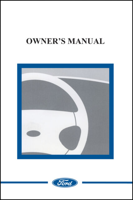 ford 2002 thunderbird owner manual us 02 ebay rh ebay com 2002 ford thunderbird service manual 2002 thunderbird owners manual pdf