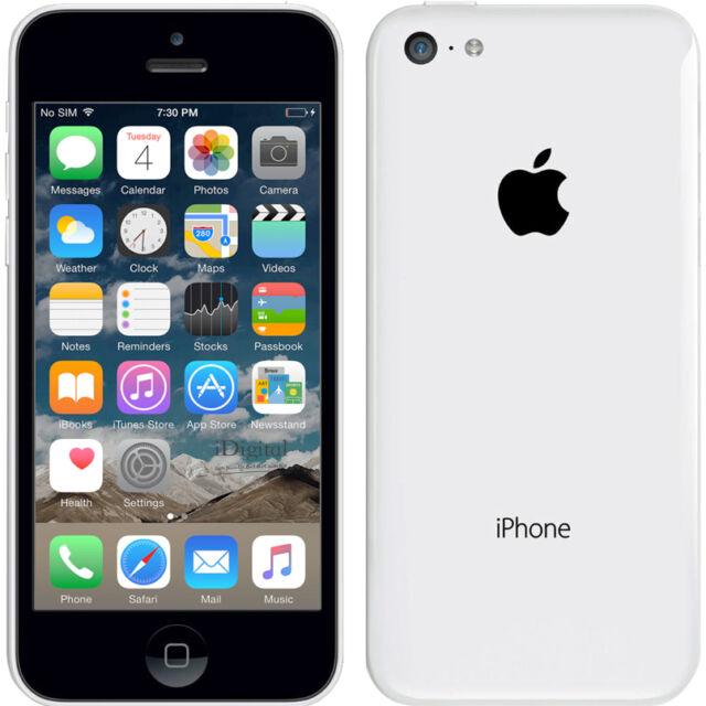 Neuf Smartphone Apple iPhone 5c - 32 Go - Blanc - Téléphone Portable Débloqué
