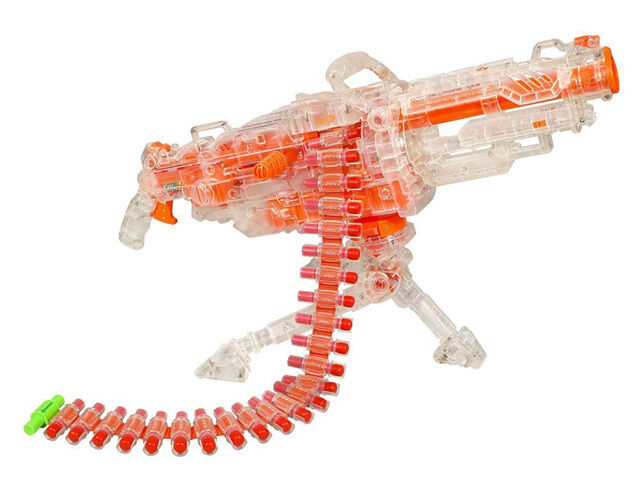 NEW 1000 Changeable Combination Big Machine Guns Bursts Foam EVA Electric  Gun Soft Bullets Toy Compitable