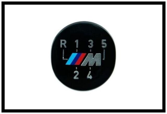 BMW M Emblem Schaltknauf 5 gang M Motorsport selbstklebend 3er 5er 25111221613.