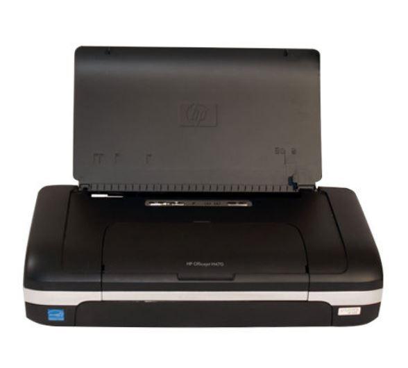 HP Officejet H470 Mobildrucker - CB026A mit USB Netzt. Tintenpatr.