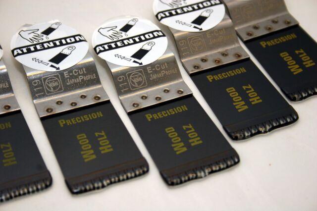 FEIN E-Cut Precision-Sägeblätter, für FEIN SuperCut 5er Pack, neu, mit Rechnung!