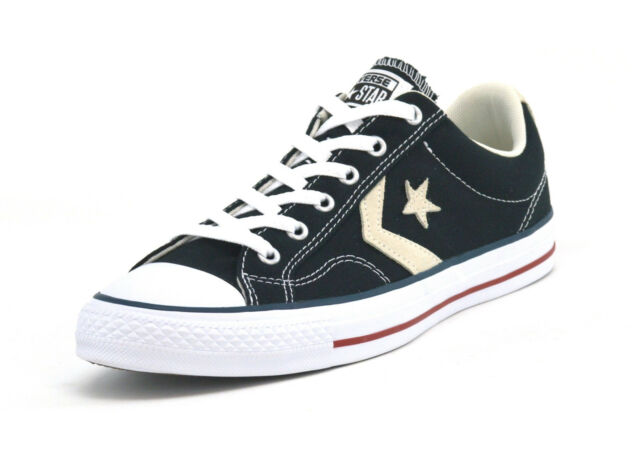 Converse STAR PLAYER OX - Trainers - black/milk