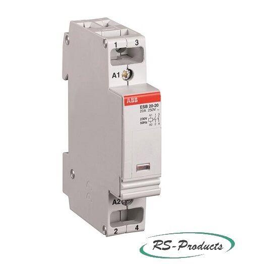 ABB ESB20-11-230V 50Hz Installationsschütz, 1S+1Ö, GHE3211302R0006