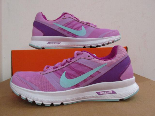 Nike WMNS AIR IMPLACABILE 6 Nero/Bianco Donna Scarpe Da Ginnastica Corsa Uk 4.5