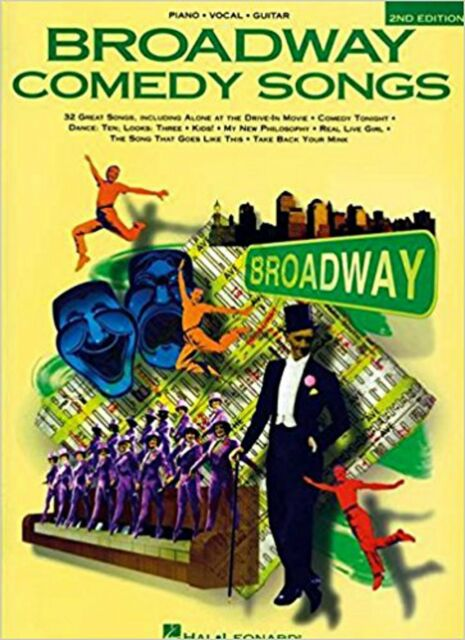 Broadway Comedy Songs, New,  Book